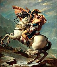 Napoléon franchit les Alpes