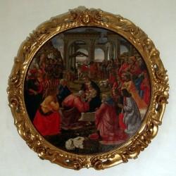 Adoration des Mages, Domenico Ghirlandaio, 1487