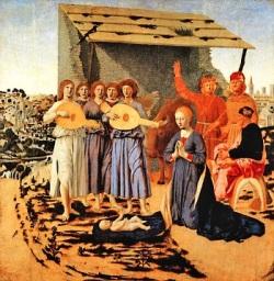 La nativité, Piero della Francesca, 1470