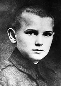 Karol Wojtyla à 12 ans