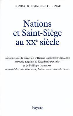 Nations et Saint Siège au XXe siècle