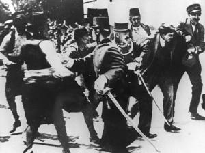 L'attentat de Sarajevo
