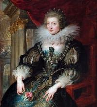Anne d'Autriche( 1601-1666) peinte par Rubens en 1625