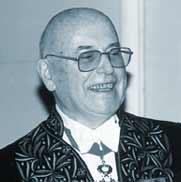 Jean Leclant, ancien Secrétaire secrétaire perpétuel de l'Académie des inscriptions et belles lettres.