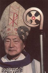 Mgr Jin Luxian est né en 1921 à Shanghai