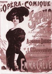 """Opéra """"Sapho"""" de Jules Massenet"""