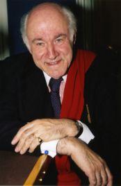 Pierre Rosenberg de l'Académie française, au studio de Canal Académie.
