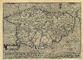 Cartographie de la Corse au XVII<sup>e<\/sup> siècle.