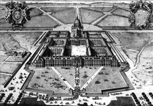 Gravure des Invalides en 1683
