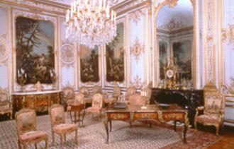 Chambre du Prince de Condé au Château de Chantilly.