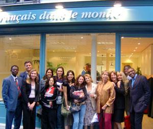 """Le café """"Le français dans le monde"""" a vu le jour grâce au Grand prix culturel de la Fondation Louis D."""