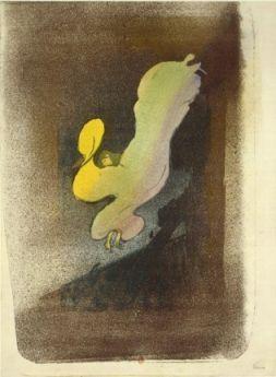 Henri de Toulouse-Lautrec, (1864-1901), Miss Loïe Fuller.