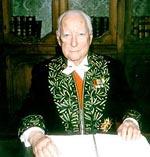 Pierre Messmer, chancelier honoraire de l'Institut depuis le 1er janvier 2006