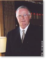 Jacques Lucas, membre de l'Académie des sciences dans la section Physique, depuis 2004.