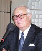 Arnaud d'Hauterives, secrétaire perpétuel de l'Académie des beaux-arts.