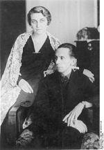Joseph et Magda Goebbels