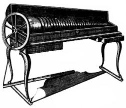 L'harmonica de verre fut inventé par l'irlandais Puckeridge, et peaufiné par Benjamin Franklin.