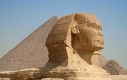 Plateau de Gizeh, le Sphinx