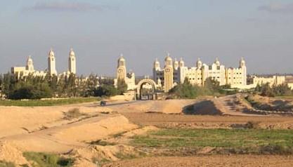 Monastère Copte d'Abou mina à Alexandrie
