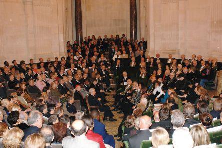 Séance publique annuelle de l'ASMP, sous la Coupole le 20 novembre 2006.