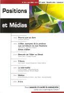 Revue trimestrielle Positions et médias N°34.