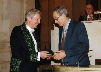 Jules Hoffmann et Peter Goldreich