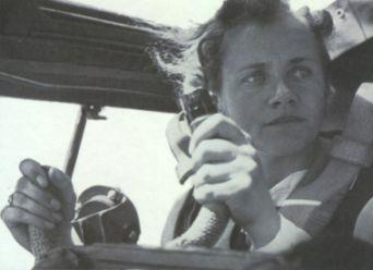 Hanna Reitsch (1912-1979).