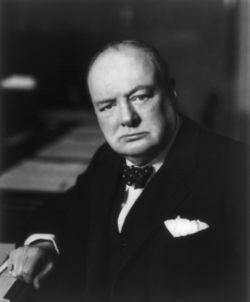 Sir Winston Leonard Alexander Spencer Churchill (1874-1965)