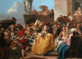Scène de Carnaval, Le menuet, Giovanni Domenico Tiepolo