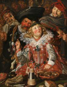 Mardi-Gras, Frans Hals