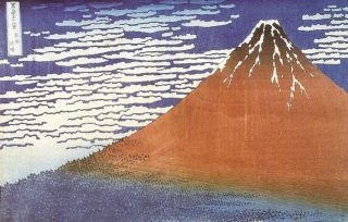 Katsushika Hokusai (1760-1849), Beau temps par vent du sud.