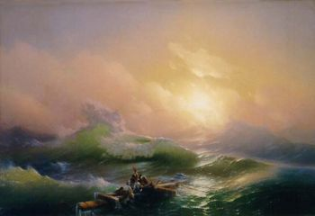 La Neuvième vague, Hovhannes Aivazovsky