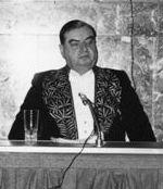 Roger Caillois (1913-1978), élu à l'Académie française en 1971 au fauteuil 3