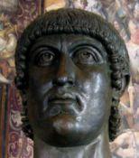 Tête colossale de Constantin Ier