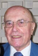 Jean Leclant, ancien Secrétaire perpétuel de l'Académie des inscriptions et belles lettres