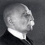Emile Mâle élu en 1927 à l'Académie française