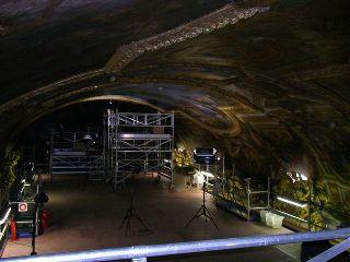 La restauration du plafond de Le Brun.