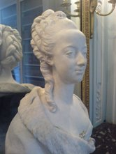 Le buste de Marie Antoinette