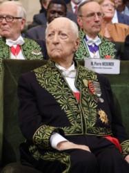 Le Chancelier honoraire Pierre Messmer