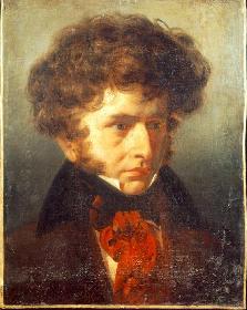 Portrait de Berlioz par Signol à la Villa Medicis