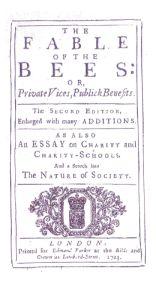 La Fable des abeilles