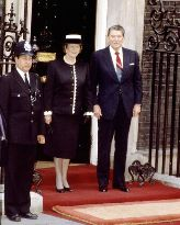 Margaret Thatcher et Ronald Reagan