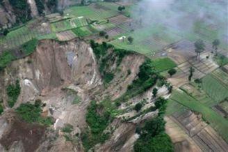 Glissement de terrain au Guatemala après le passage d'El Niño