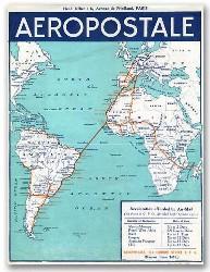 Compagnie Générale de l'Aéropostale - Horaires et informations générales - octobre 1930