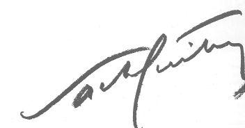 Signature de Sacha Guitry