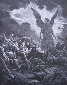 Gravure-illustration de Gustave Doré