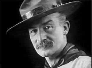 Baden Powell en 1912.