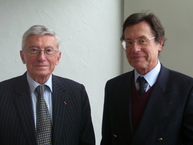 Michel Albert et Jean-Pierre Chamoux