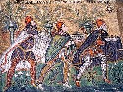 Mosaïque de Ravenne (Italie)