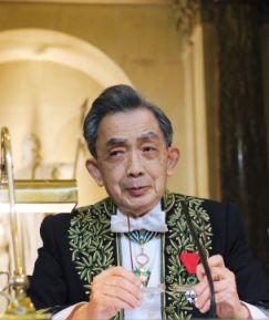 François Cheng de l'Académie française, le 29 novembre 2007, sous la Coupole